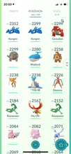Load image into Gallery viewer, Legendary Account - 40 level - 365 Pokemon - Team Valor #440