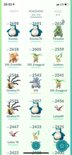 Load image into Gallery viewer, Legendary Account - 35 level - Team Mystic #444