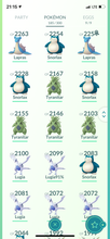 Load image into Gallery viewer, Legendary Account - 31 level - Team Mystic #445