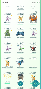 Legendary Account - 34 Level - Team Valor #562