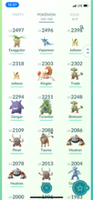 Load image into Gallery viewer, Legendary Account - 31 Level - Team Mystic #565