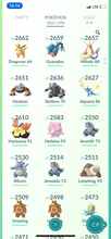 Load image into Gallery viewer, Legendary Account - 39 Level - Team Mystic - 1000 Pokemon #571