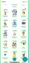 Load image into Gallery viewer, Legendary Account - 33 Level - Team Mystic #574