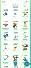 Load image into Gallery viewer, Legendary Account - 39 level - 1066 Pokemon - Team Mystic #580