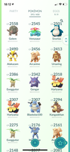 Load image into Gallery viewer, Legendary Account - 36 level - 393 Pokemon - Team Mystic #583