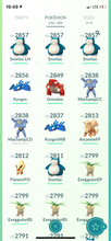 Load image into Gallery viewer, Legendary Account - 32 level - Team Mystic #593