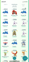 Load image into Gallery viewer, Legendary Account - 37 level - 510 Pokemon - Team Mystic #598