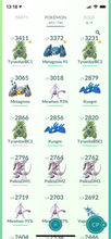 Load image into Gallery viewer, Legendary Account - 35 level - 692 Pokemon - Team Mystic #600