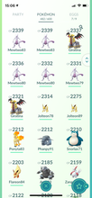 Load image into Gallery viewer, Legendary Account - 35 level - 482 Pokemon - Team Mystic #613