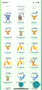 Legendary Account - 32 level - Team Valor #615