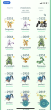 Load image into Gallery viewer, Legendary Account - 35 level - Team Mystic #428