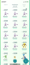 Load image into Gallery viewer, Legendary Account - 34 level - Team Mystic #475