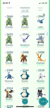 Load image into Gallery viewer, Legendary Account - 31 level - Team Mystic #476