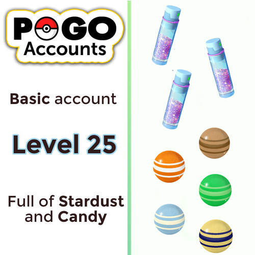 Pokemon GO - Level 25 Account - www.pogo-accounts.shop