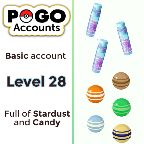 Pokemon GO - Level 28 Account - www.pogo-accounts.shop