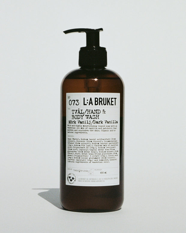 073 Hand & body wash - Dark Vanilla