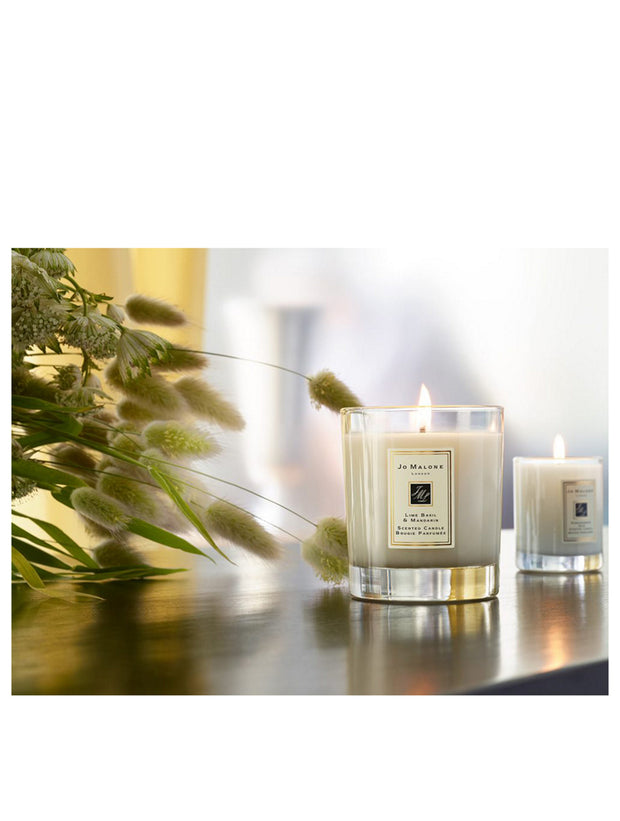 LIME BASIL & MANDARIN - Scented Candle