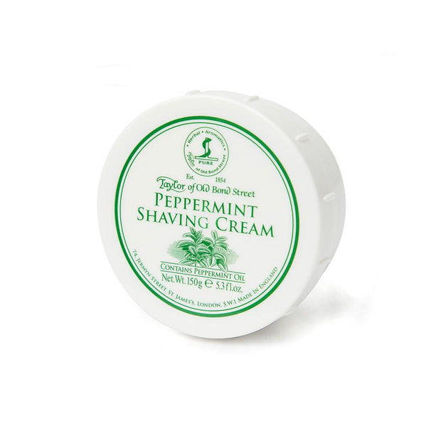 PEPPERMINT SHAVING CREAM BOWL