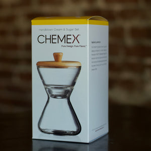 Chemex Handblown Cream and Sugar Set