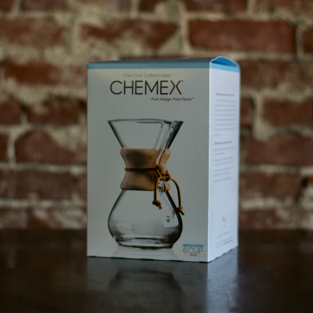 Chemex Six Cup (Classic Wood Handle and Glass Handle Series)