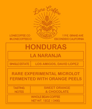 Honduras La Naranja | 92 Points on Coffee Review