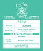 Fair Trade Organic Peru Aproselva | 90+ Points on Coffee Review