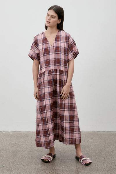 Parklife Dress Coney Island Plaid