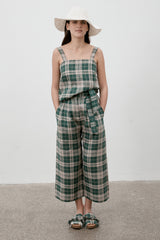 Luna Pants Hunter Check PRE-ORDER DELIVERY OCTOBER 12