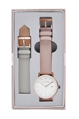 The Horse Watch D Series Dual Pack Rose Gold / Grey / Blush