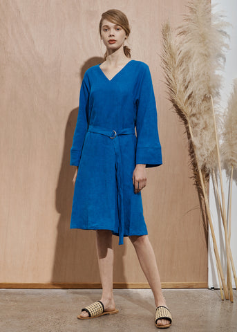 Weaver Dress - Cobalt Blue