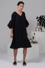 Bermuda Dress - Black