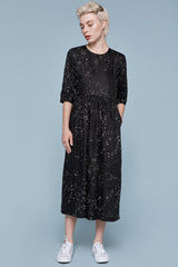 Prairie Dress - Galaxy print