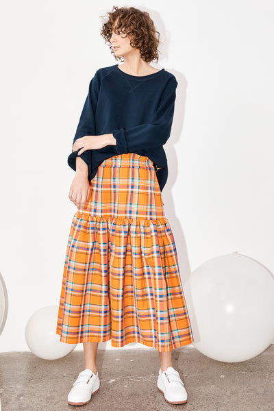 Dali skirt - Koolaid plaid