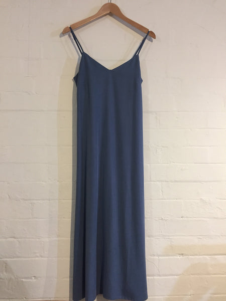 Slip Dress - Dusty Blue