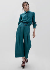 Luna Pant - Teal Green