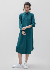 Ranger Shirt Dress - Teal Green PRE ORDER- Delivery mid May