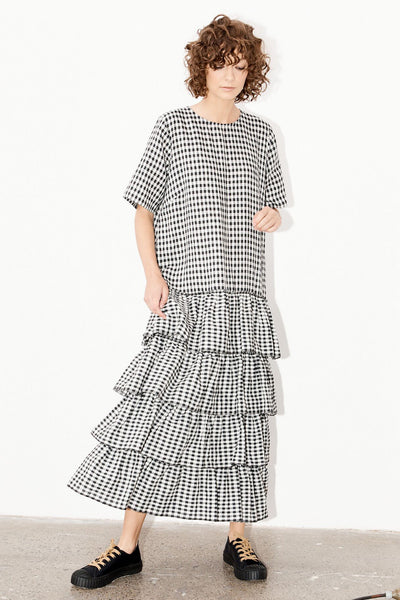 Ivy Dress - Gingham (DELIVERY 22nd June)