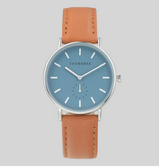The Horse Watch Classic - Sea Salt Blue / Tan Leather