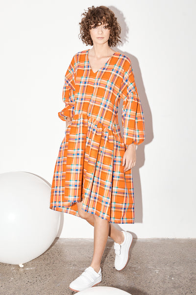 Florence Dress - Koolaid Plaid PRE-ORDER NOW. Delivery May 20th