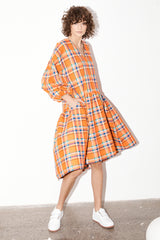 Florence Dress - Koolaid Plaid
