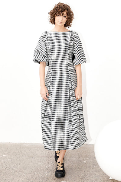 Terrace Dress - Gingham (DELIVERY 22nd June)