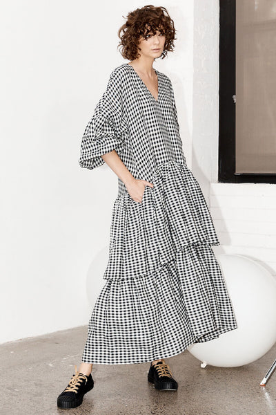 Poppy Dress - Gingham (DELIVERY 22nd JUNE)