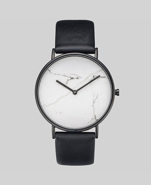 The Horse Watch Stone - White Stone / Black Band