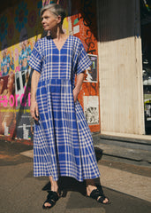 Parklife Dress - Maiden Check SOLD OUT