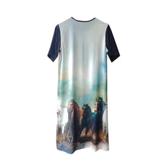 Stallion Short Tee Dress