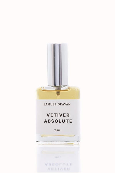Samuel Gravan Natural Perfume Vetiver Absolute