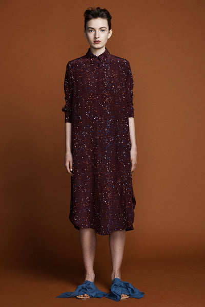 Ranger Shirt Dress - Supernova Print