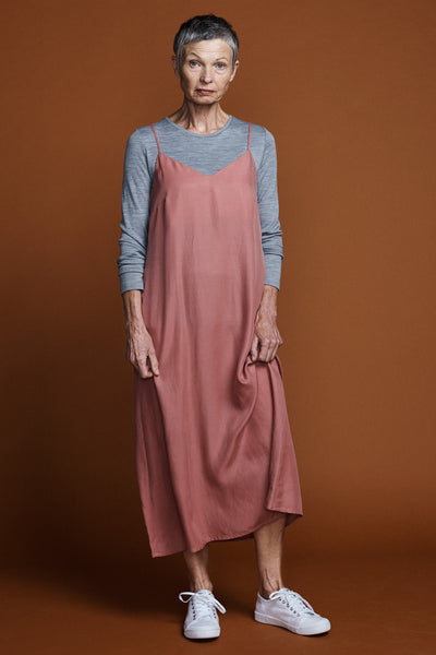Slip Dress -Antique Rose