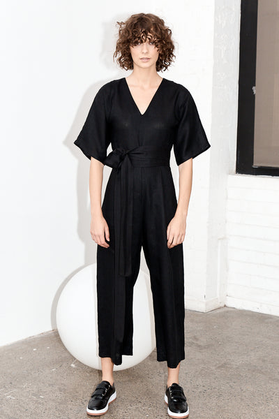 Willow Jumpsuit - Black ( Previously knows as Kimono Jumpsuit)
