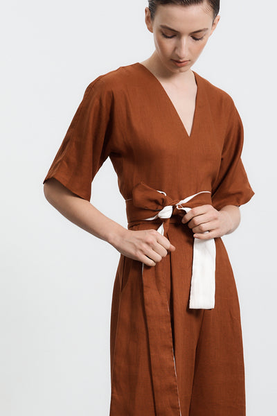 Willow Jumpsuit -Toffee PRE-ORDER Delivery June 12th